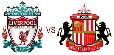 Prediksi Skor Liverpool vs Sunderland 03 Januari 2013