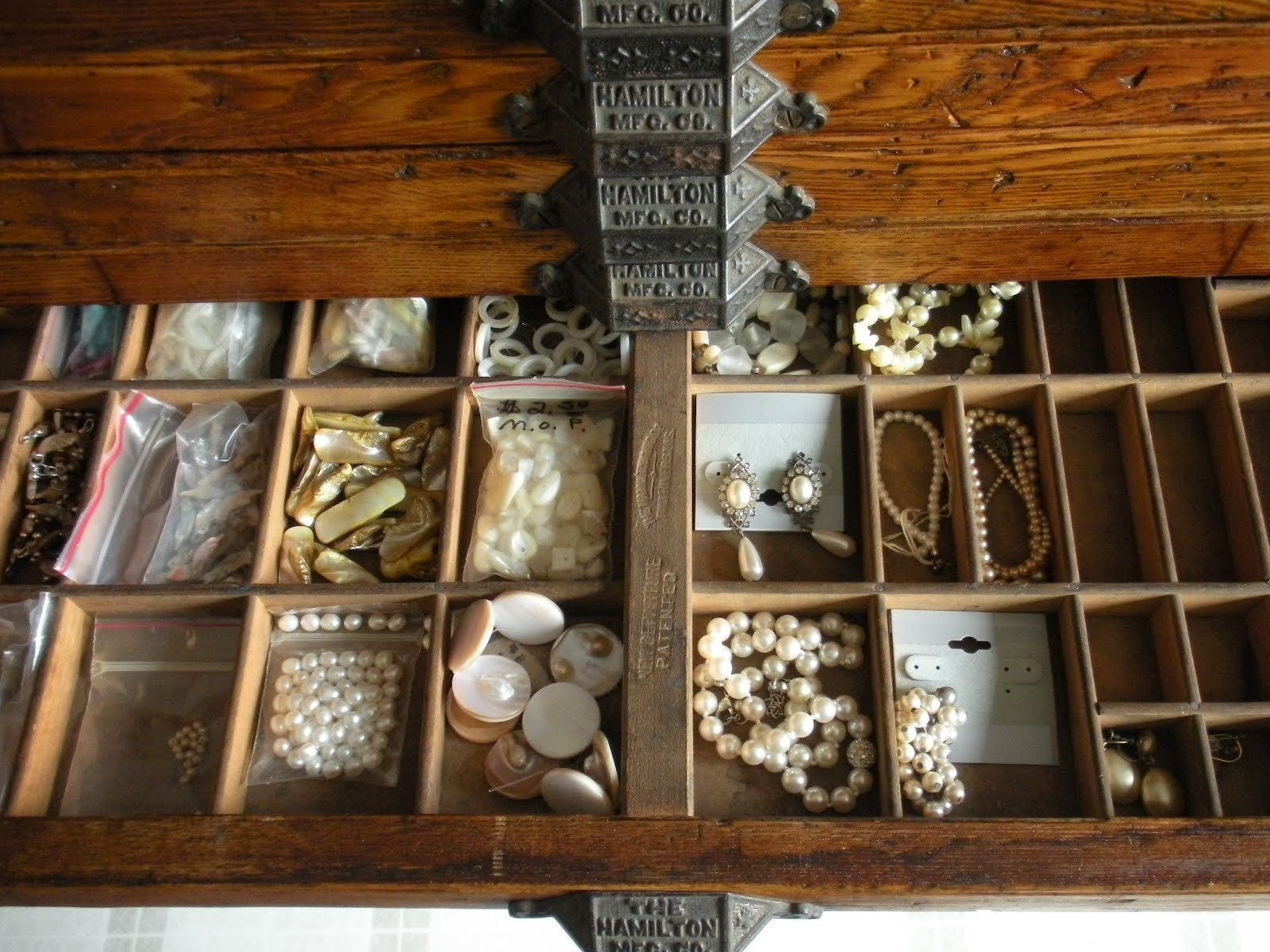RAEvN's Nest: Printers Cabinet Now Holds Jewelry Making ...