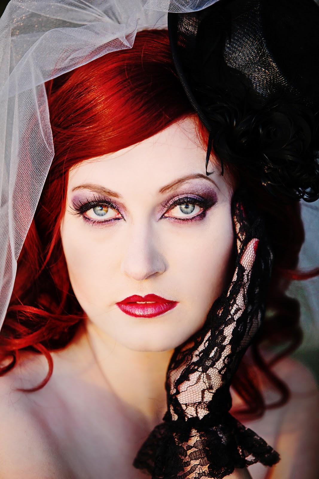 Gothic Fashion Makeup