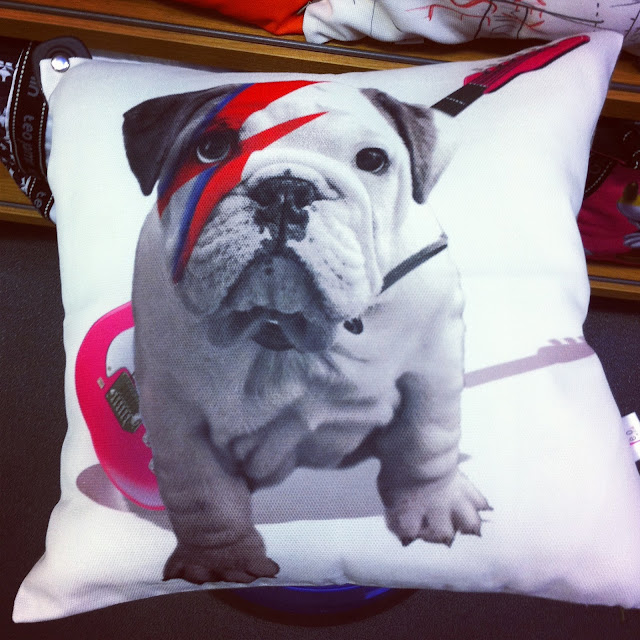 Bulldog cushions