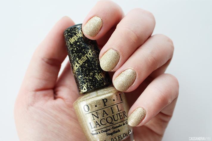 NOTD // OPI Liquid Sand in Honey Ryder - CassandraMyee