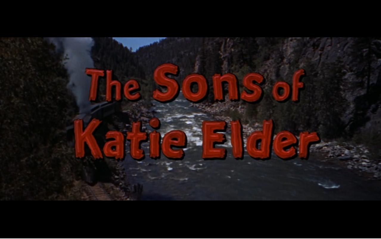 The sons of Katie Elder [western-1965] [1080p]