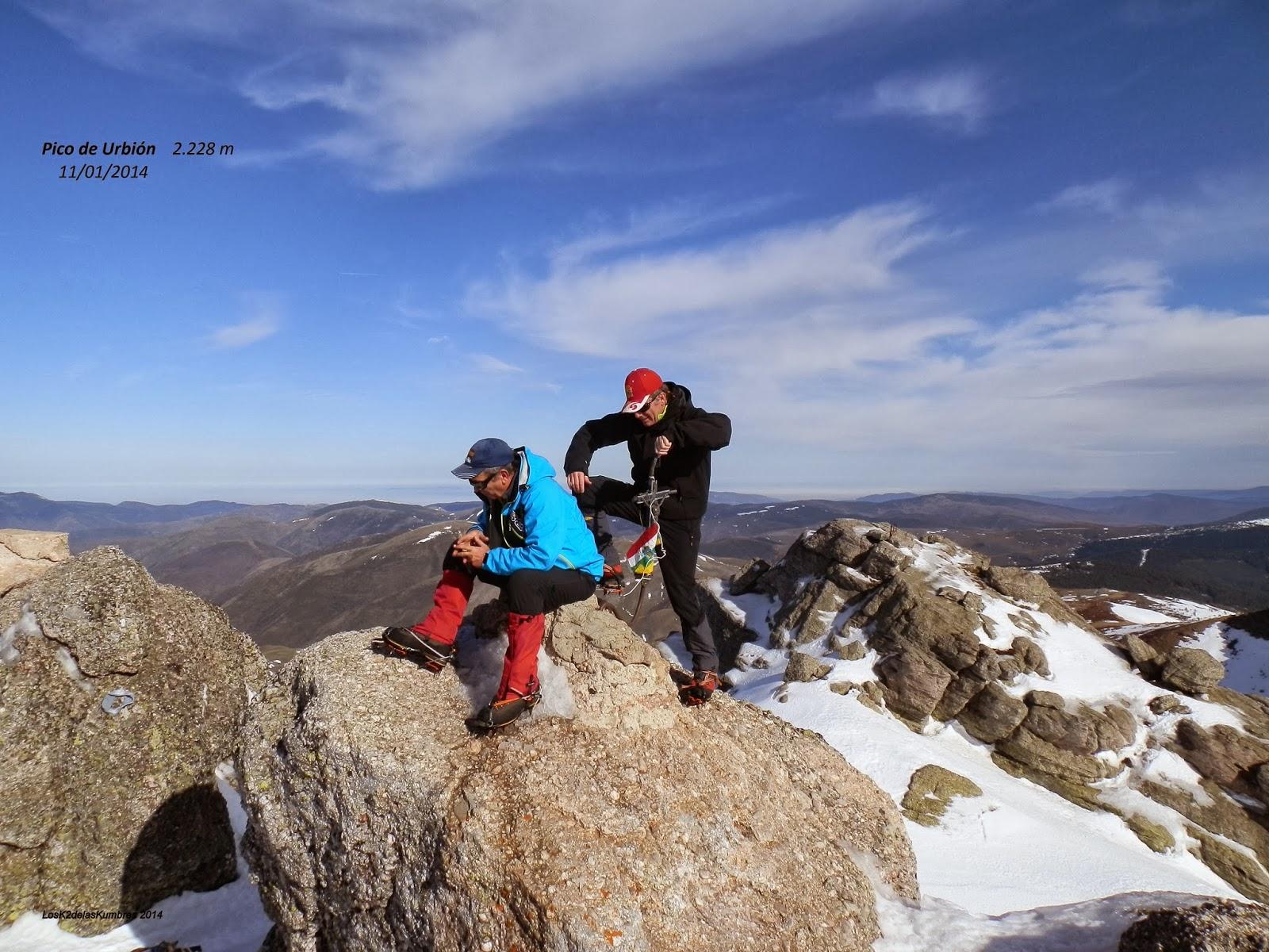 Pico Urbion cumbre Oeste