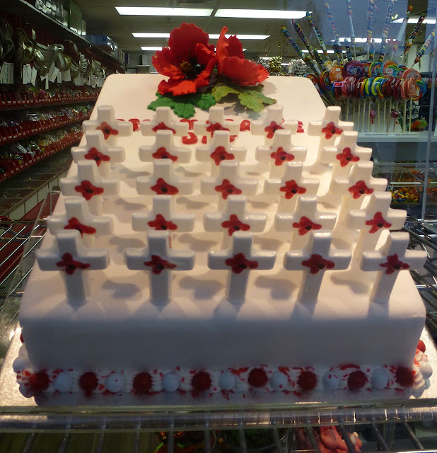 Scoop-N-Save novelty cakes - Remembrance Day