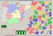 MAPA PROVINCIAS DE ESPAÑA (provincias espaã±a)