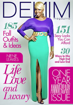 Nene Leakes on Cover of Denim Magazine