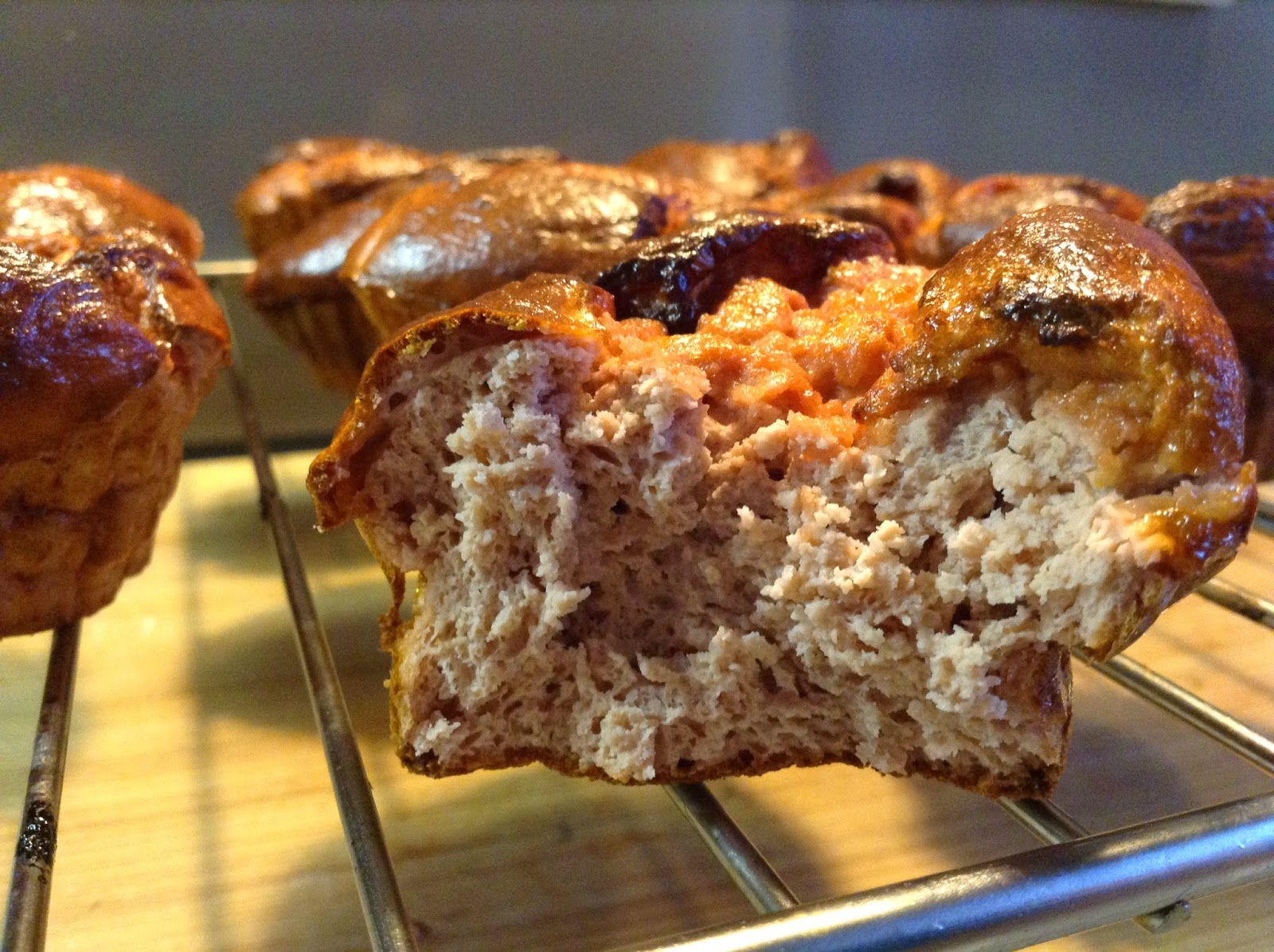 Protein Cheesecake Muffins