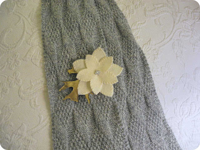 Knitting Patterns Patons Wool : Librarian Tells All: Asherton Scarf in Light Gray Marl Wool, Planning a Knitt...