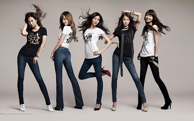 Girls Generation Widescreen Wallpaper - So Nyuh Shi Dae Wallpapers