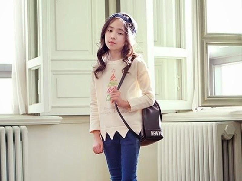 Cristina Fernandez Lee salah satu kategori anak tercantik di dunia gambar terbaru