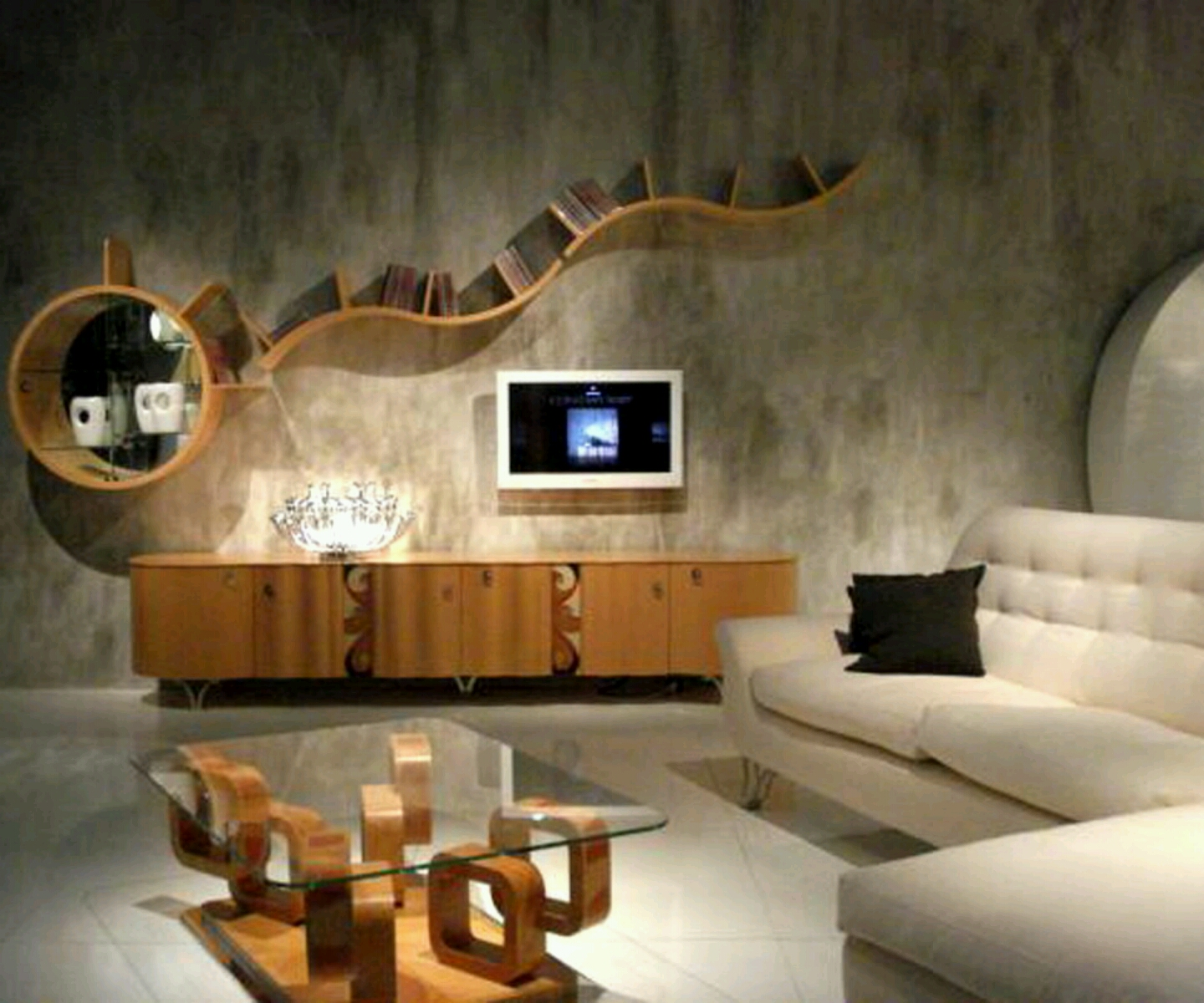 Decorating Ideas Unique Living Rooms: New Home Designs Latest.: Modern Living Room Designs Ideas