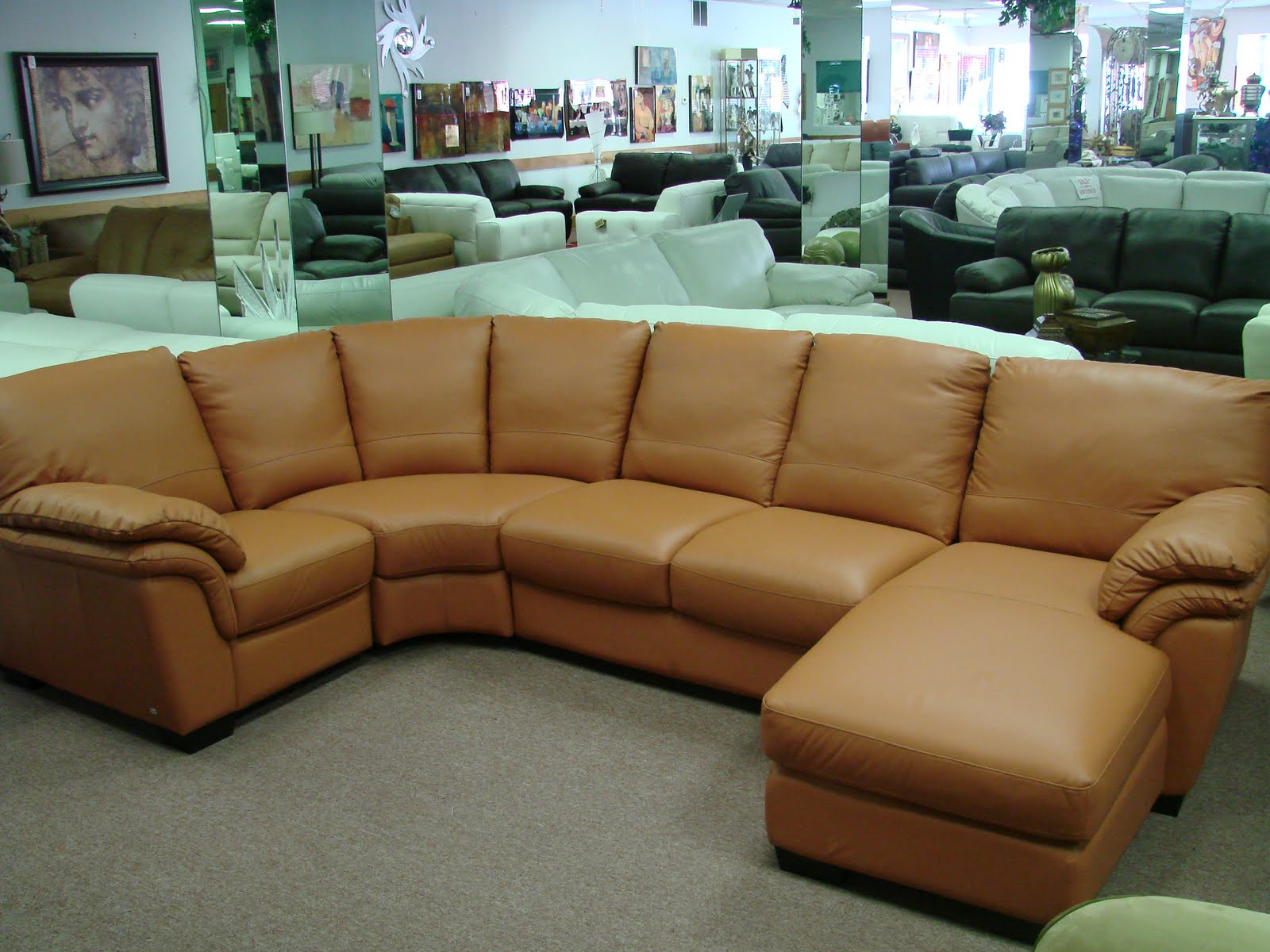 Natuzzi leather sofas sectionals by interior concepts furniture august 2011 - Sofas natuzzi ...