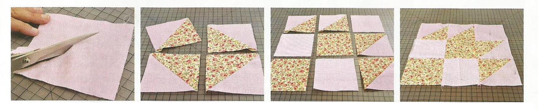 Encadenamiento passo a passo patchwork