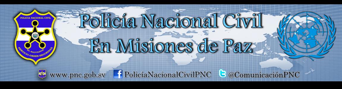 Misiones de Paz, Policía Nacional Civil, El Salvador