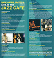 Jazz Café March - May listings