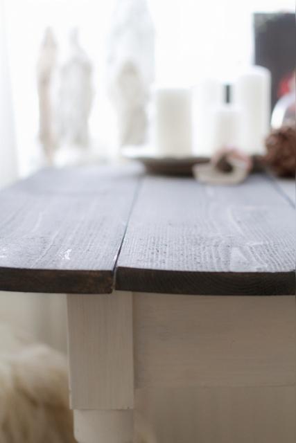 Litet Koksbord Med Klaff : Po ena stolen (den andra or inte fordig)