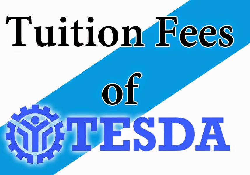 TESDA Courses Tuition Fees - TESDA Online