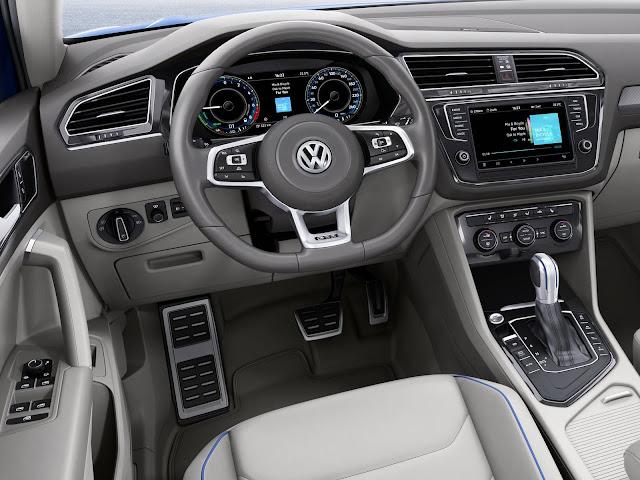 Nova VW Tiguan 2017 - painel