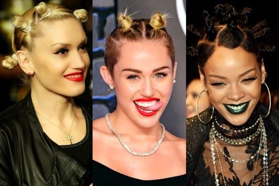 hair knot: tren kecantikan teraneh 2014