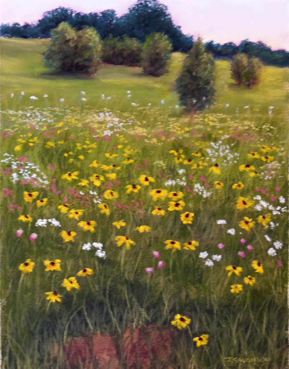 https://www.etsy.com/listing/175392000/summer-wildflowers-original-pastel?