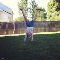 First cartwheel in, like, 10 years.