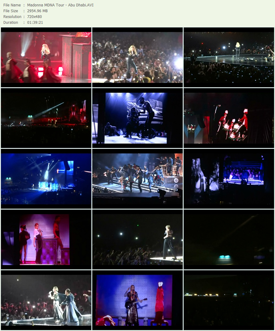 Mdna Tour Dvd Download