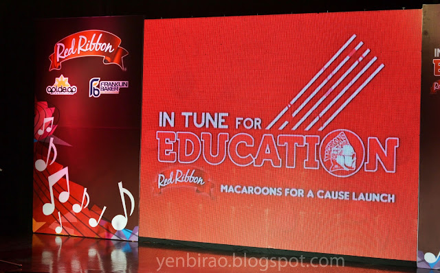 In Tune For Education: Red Ribbon Macaroons For A Cause Launch