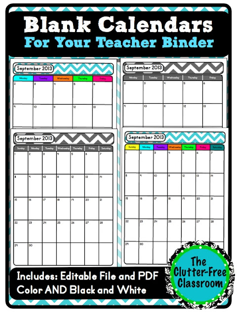 -Free Classroom: Stay u0026quot;Up to Dateu0026quot; With a School Calendar ...