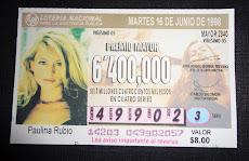 Lottery - Mexico 1998