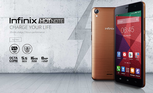 Infinix Hot Note Philippines