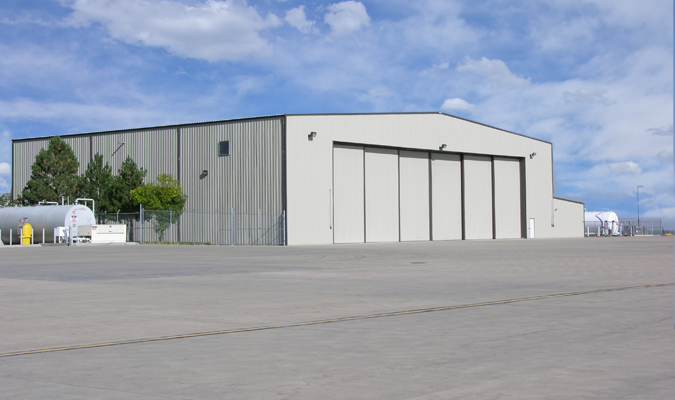 The secret to build strong aircraft hangars is steel for Architecture hangar