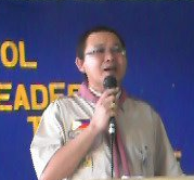 City Assistant Scout Commissioner Ferdinand S. of La Carlota Scouting Council
