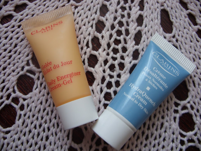 Clarins Daily energizer Cream-Gel & Clarins HydraQuench Cream