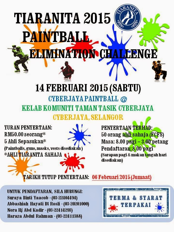 TIARANITA : Paintball Elimination Challenge 2015