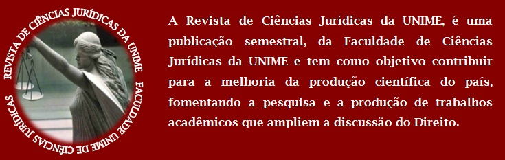 Revista Jurídica da FCJ   -   UNIME
