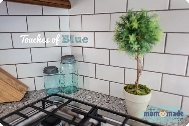 Touches of Blue/Aqua Decor by Mom-Made