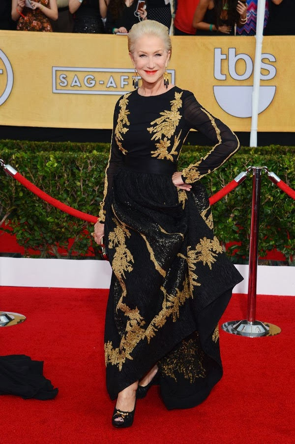 helen mirren sag awards 2014