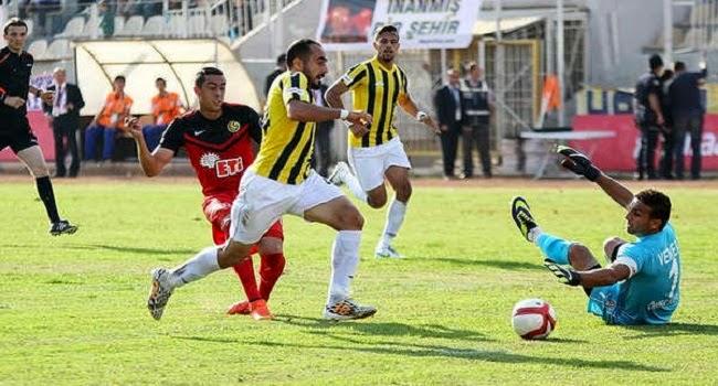 Funes Mori marca su primer gol del partido