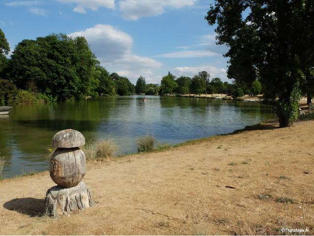 plage Lac Daumesnil, Bois de Vincennes Paris 12ème