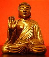 buddha amogasiddhi statua scultura Progetto vajra perle nel tempo art gallery meditazione zen