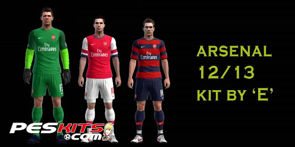 PES 2012 Arsenal 2012/13 Kits by E