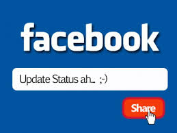 update status facebook via