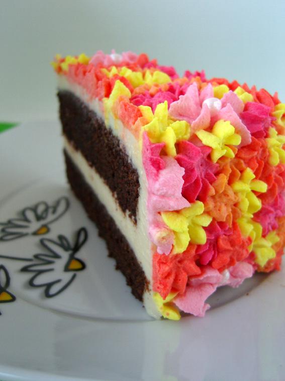 Schokoladen-Macadamia-Torte