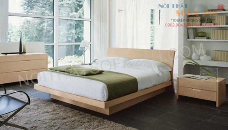 Giường ngủ GN079