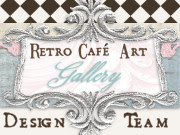 Retro Cafe Art