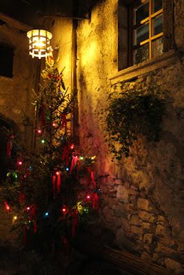 Weihnachtsbaum in Canale