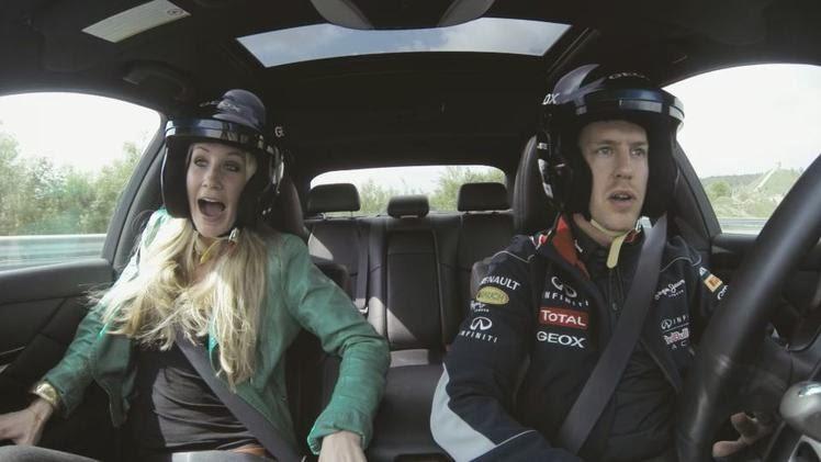 Geox Scream Challenge, Sebastian Vettel