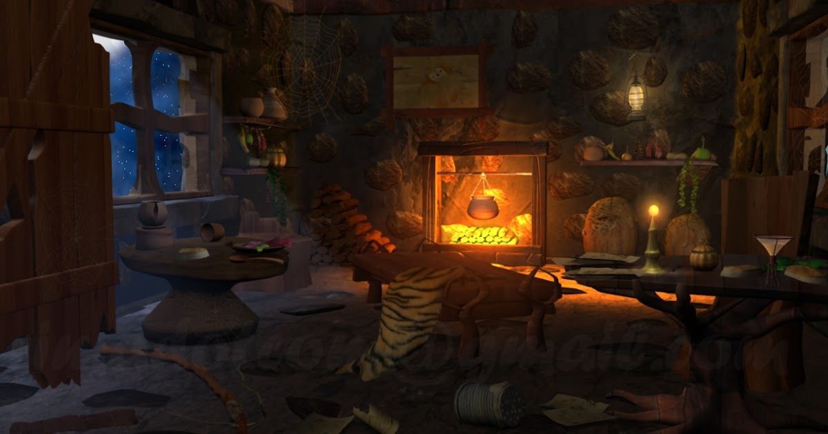 Rima Mitra 3D CG Generalist In Animation Concept Night Fantasy Room