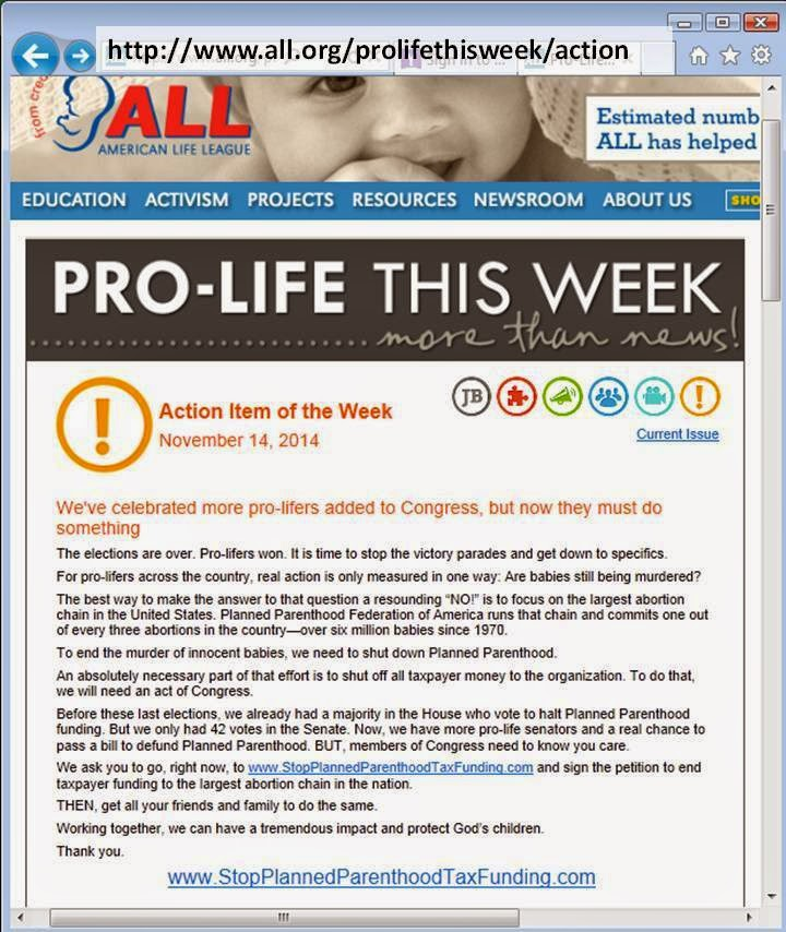 http://www.all.org/prolifethisweek/action