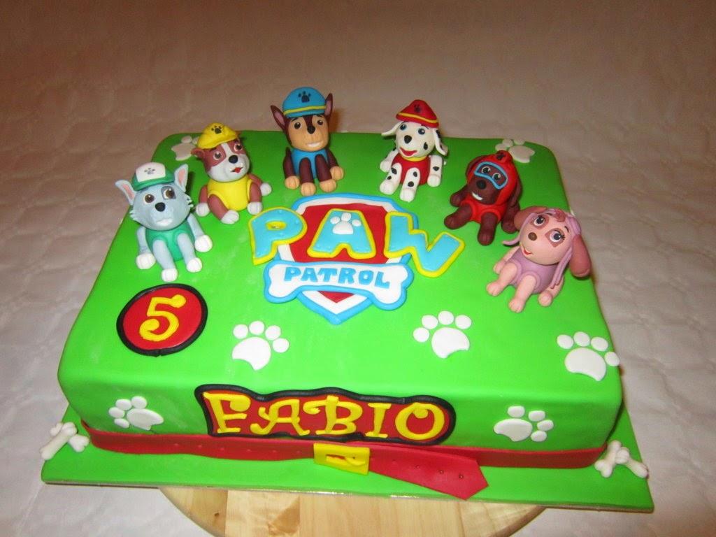 LODOCAKE Cake Paw Patrol